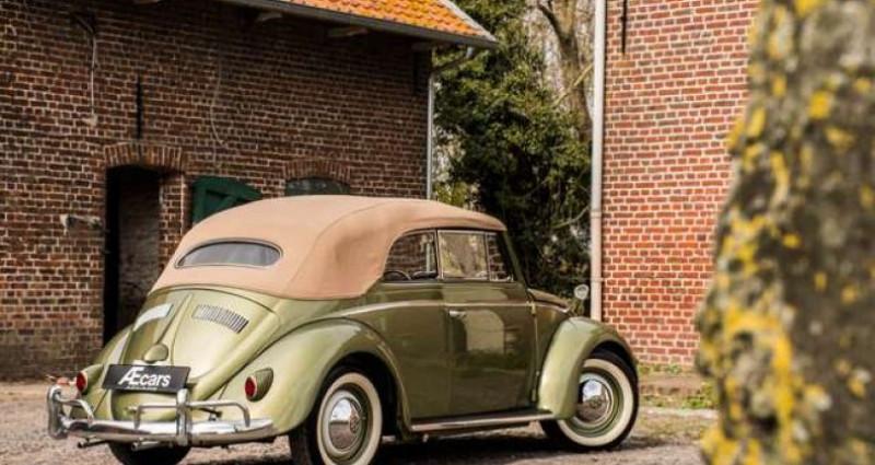 Volkswagen Beetle OVAL KARMANN KABRIOLETT - COLLECTORS ITEM Vert occasion à IZEGEM - photo n°5