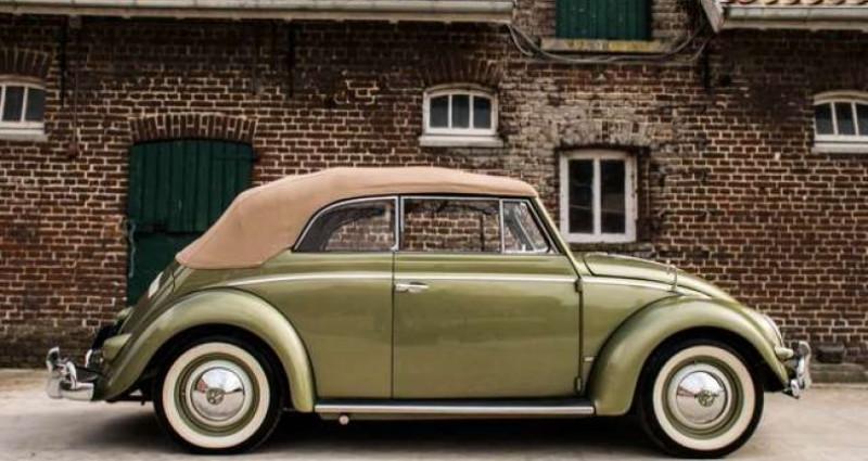 Volkswagen Beetle OVAL KARMANN KABRIOLETT - COLLECTORS ITEM Vert occasion à IZEGEM - photo n°4