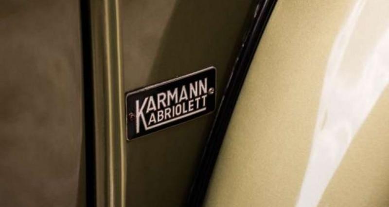 Volkswagen Beetle OVAL KARMANN KABRIOLETT - COLLECTORS ITEM Vert occasion à IZEGEM - photo n°6