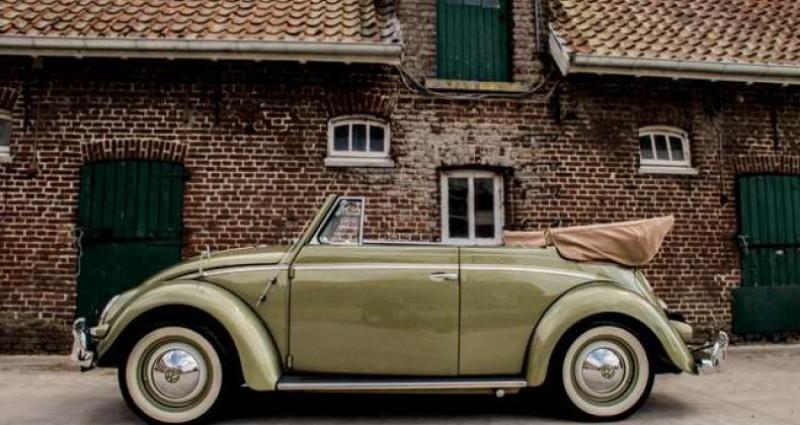 Volkswagen Beetle OVAL KARMANN KABRIOLETT - COLLECTORS ITEM Vert occasion à IZEGEM - photo n°2