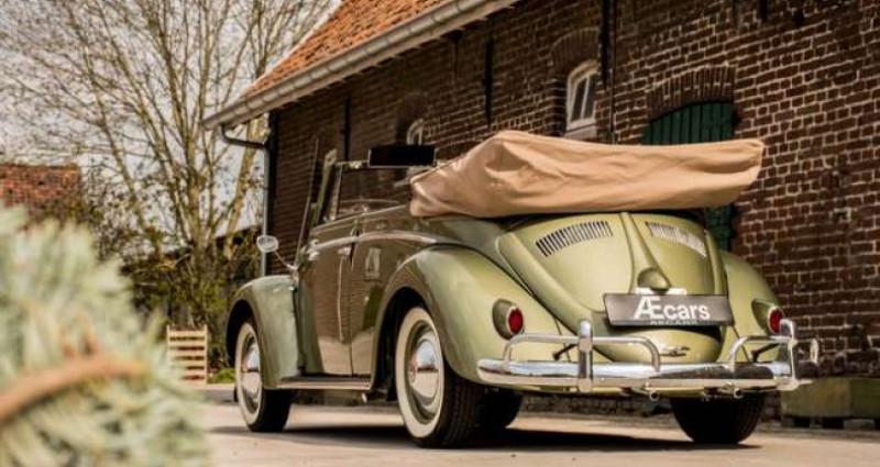 Volkswagen Beetle OVAL KARMANN KABRIOLETT - COLLECTORS ITEM Vert occasion à IZEGEM - photo n°3