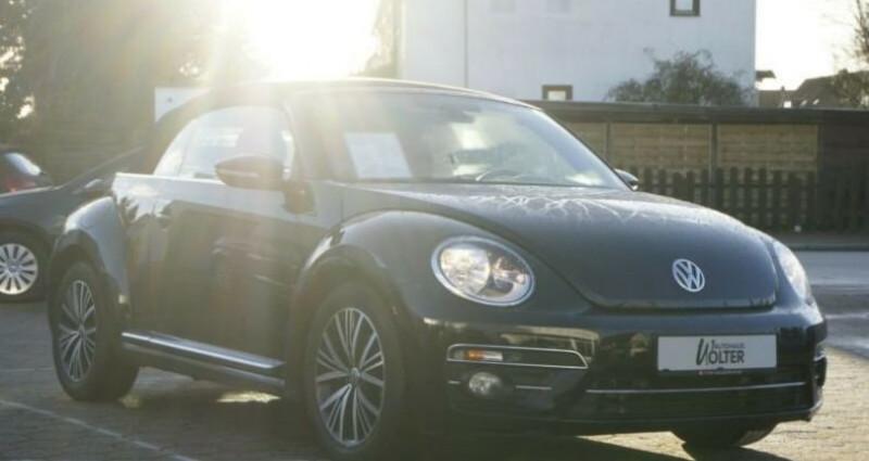 Volkswagen Beetle Volkswagen Beetle Cabrio 1.4 TSI 150 Turbo Allstar GPS/CAMER Noir occasion à Mudaison - photo n°3