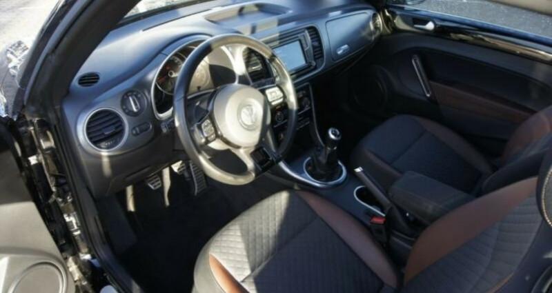 Volkswagen Beetle Volkswagen Beetle Cabrio 1.4 TSI 150 Turbo Allstar GPS/CAMER Noir occasion à Mudaison - photo n°7