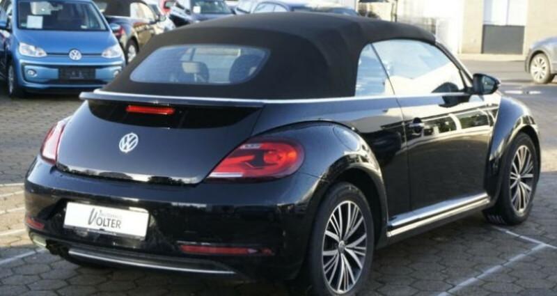 Volkswagen Beetle Volkswagen Beetle Cabrio 1.4 TSI 150 Turbo Allstar GPS/CAMER Noir occasion à Mudaison