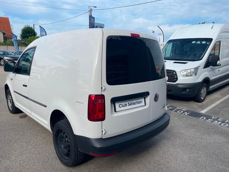 Volkswagen Caddy Van 2.0 TDI 122ch Business Line 4Motion Blanc occasion à Beaune - photo n°10