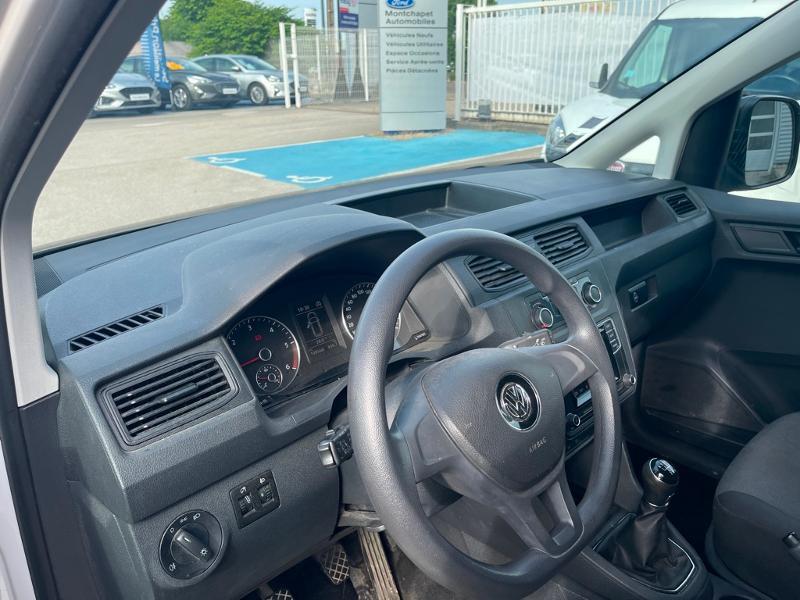 Volkswagen Caddy Van 2.0 TDI 122ch Business Line 4Motion Blanc occasion à Beaune - photo n°3