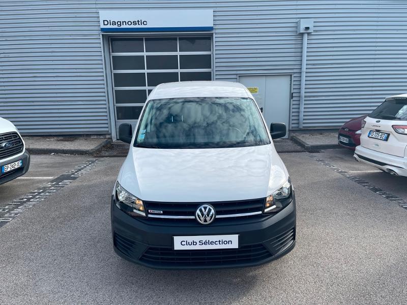 Volkswagen Caddy Van 2.0 TDI 122ch Business Line 4Motion Blanc occasion à Beaune - photo n°2