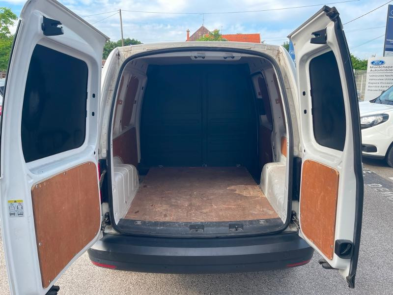 Volkswagen Caddy Van 2.0 TDI 122ch Business Line 4Motion Blanc occasion à Beaune - photo n°5