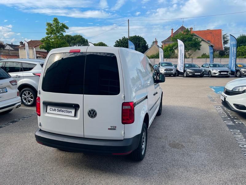 Volkswagen Caddy Van 2.0 TDI 122ch Business Line 4Motion Blanc occasion à Beaune - photo n°11