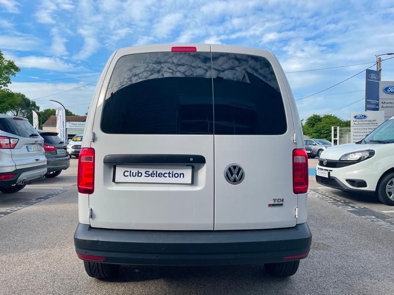 Volkswagen Caddy Van 2.0 TDI 122ch Business Line 4Motion Blanc occasion à Beaune - photo n°12