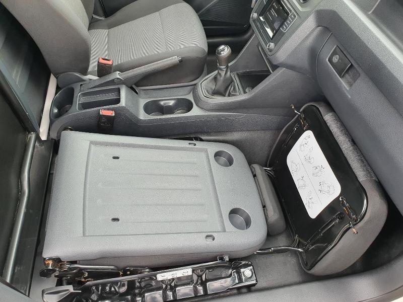 Volkswagen Caddy Van 2.0 TDI 150ch Business Line Blanc occasion à Albi - photo n°16