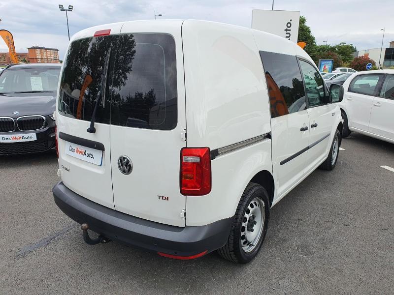 Volkswagen Caddy Van 2.0 TDI 150ch Business Line Blanc occasion à Albi - photo n°2