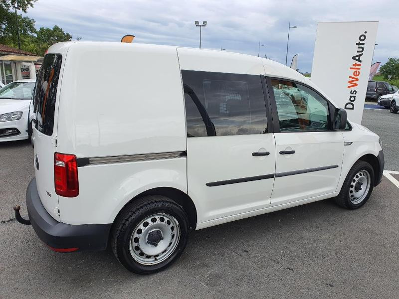 Volkswagen Caddy Van 2.0 TDI 150ch Business Line Blanc occasion à Albi - photo n°12