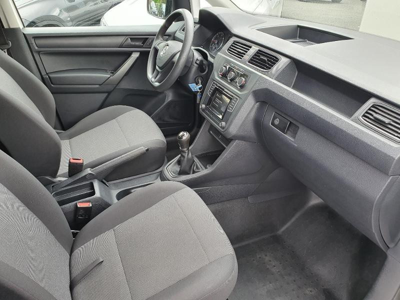 Volkswagen Caddy Van 2.0 TDI 150ch Business Line Blanc occasion à Albi - photo n°6