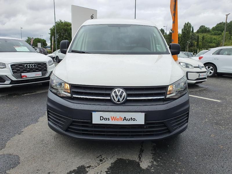 Volkswagen Caddy Van 2.0 TDI 150ch Business Line Blanc occasion à Albi - photo n°11