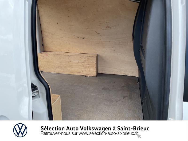 Volkswagen Caddy Van 2.0 TDI 75ch Business Line Blanc occasion à Saint Brieuc - photo n°12