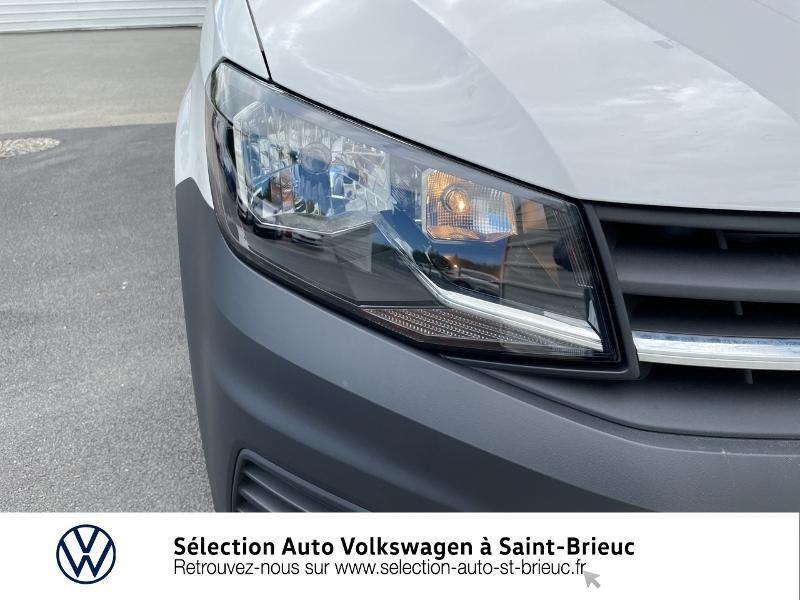 Volkswagen Caddy Van 2.0 TDI 75ch Business Line Blanc occasion à Saint Brieuc - photo n°14