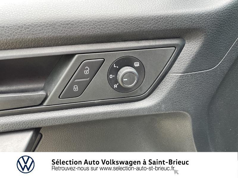 Volkswagen Caddy Van 2.0 TDI 75ch Business Line Blanc occasion à Saint Brieuc - photo n°15