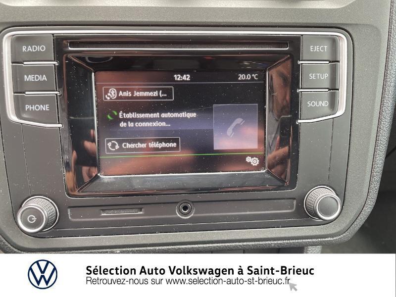Volkswagen Caddy Van 2.0 TDI 75ch Business Line Blanc occasion à Saint Brieuc - photo n°8