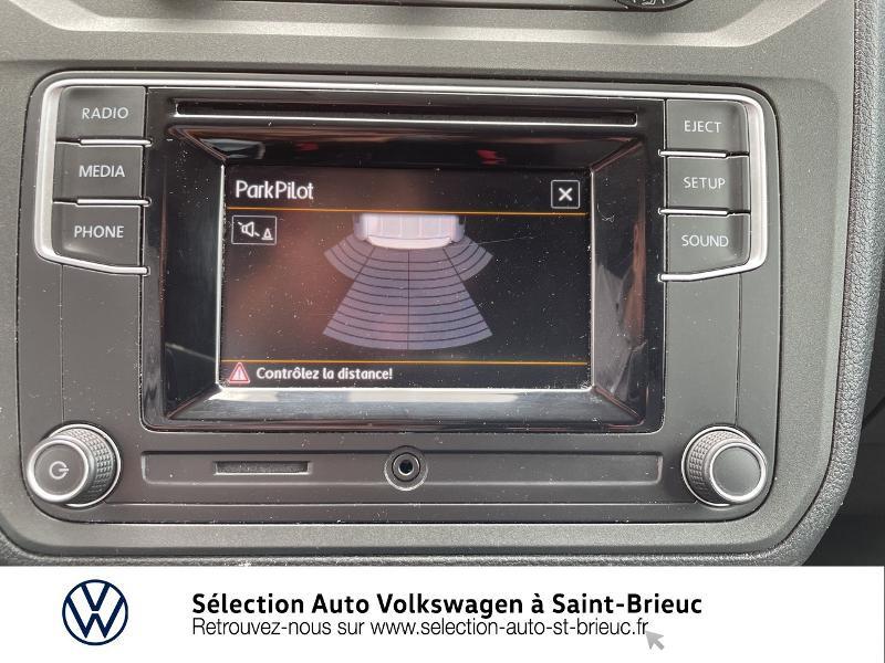 Volkswagen Caddy Van 2.0 TDI 75ch Business Line Blanc occasion à Saint Brieuc - photo n°9