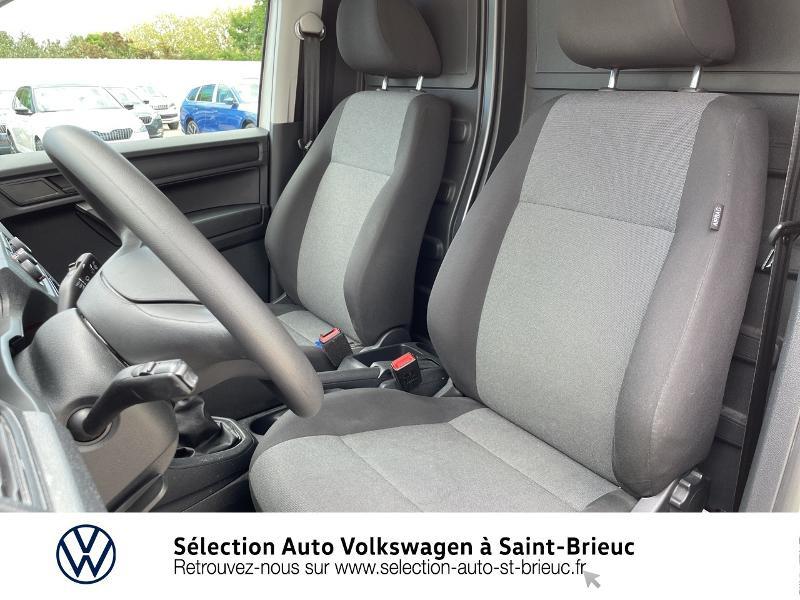 Volkswagen Caddy Van 2.0 TDI 75ch Business Line Blanc occasion à Saint Brieuc - photo n°11
