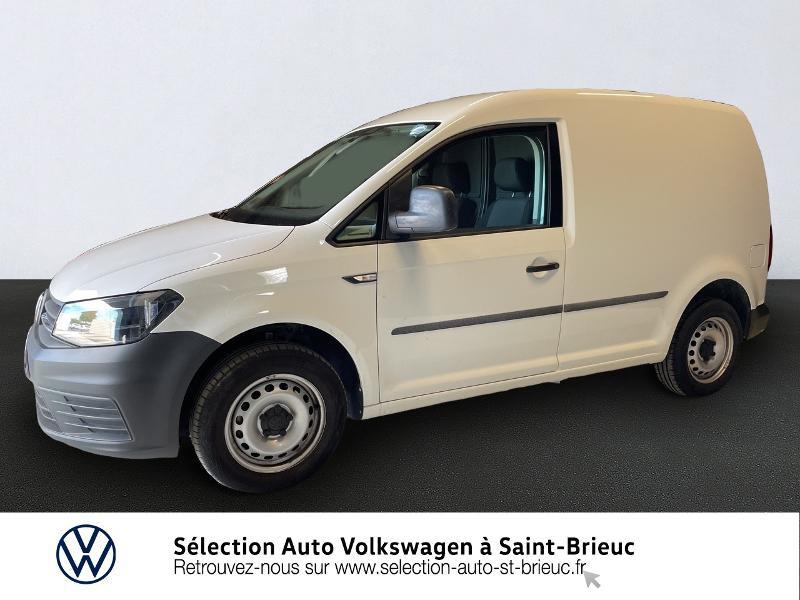Volkswagen Caddy Van 2.0 TDI 75ch Business Line Blanc occasion à Saint Brieuc