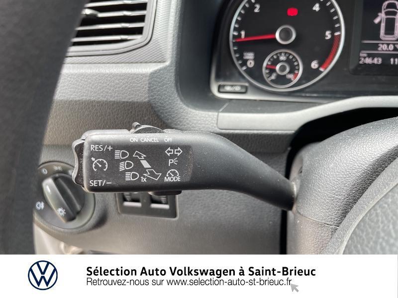 Volkswagen Caddy Van 2.0 TDI 75ch Business Line Blanc occasion à Saint Brieuc - photo n°16