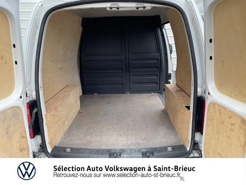 Volkswagen Caddy Van 2.0 TDI 75ch Business Line Blanc occasion à Saint Brieuc - photo n°13