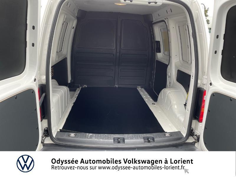 Volkswagen Caddy Van 2.0 TDI 75ch Van Blanc occasion à Lanester - photo n°11