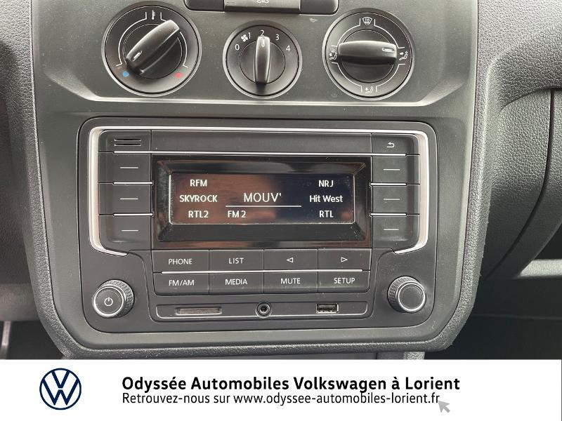 Volkswagen Caddy Van 2.0 TDI 75ch Van Blanc occasion à Lanester - photo n°8