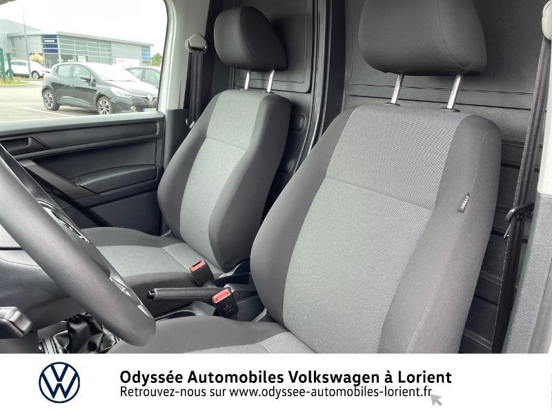 Volkswagen Caddy Van 2.0 TDI 75ch Van Blanc occasion à Lanester - photo n°9