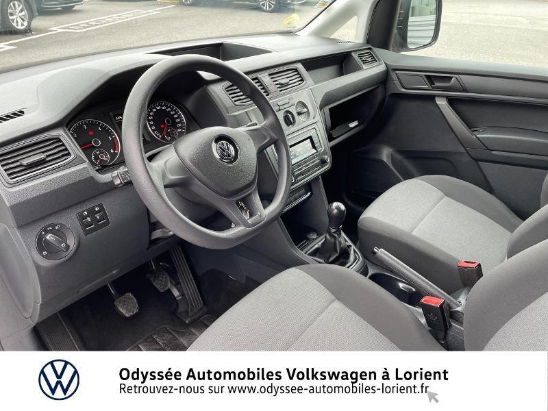 Volkswagen Caddy Van 2.0 TDI 75ch Van Blanc occasion à Lanester - photo n°6