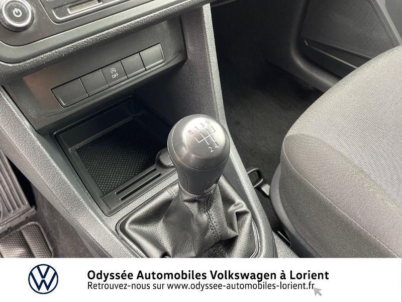 Volkswagen Caddy Van 2.0 TDI 75ch Van Blanc occasion à Lanester - photo n°10