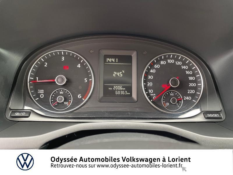 Volkswagen Caddy Van 2.0 TDI 75ch Van Blanc occasion à Lanester - photo n°7