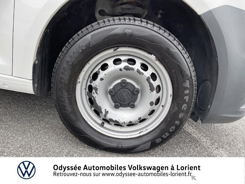 Volkswagen Caddy Van 2.0 TDI 75ch Van Blanc occasion à Lanester - photo n°15