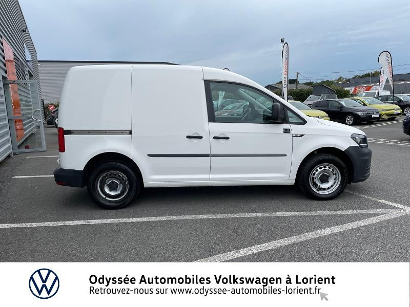 Volkswagen Caddy Van 2.0 TDI 75ch Van Blanc occasion à Lanester - photo n°4