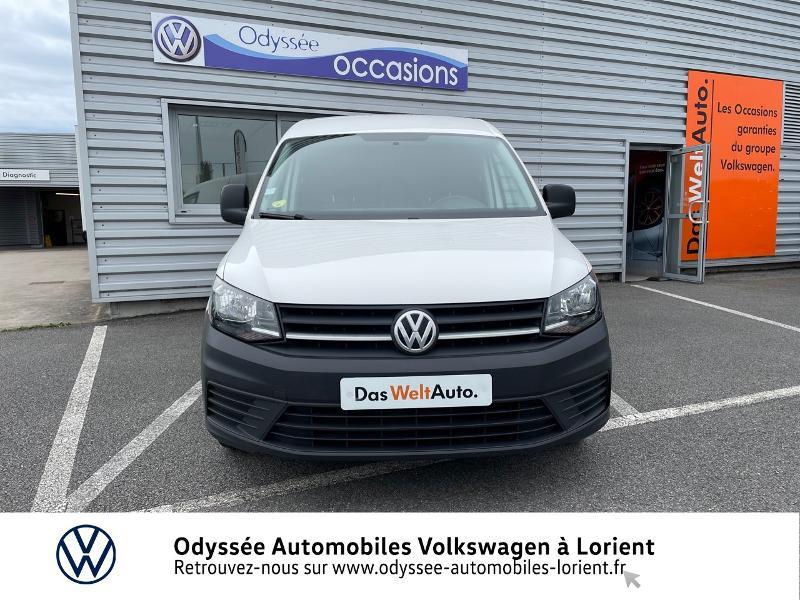 Volkswagen Caddy Van 2.0 TDI 75ch Van Blanc occasion à Lanester - photo n°5