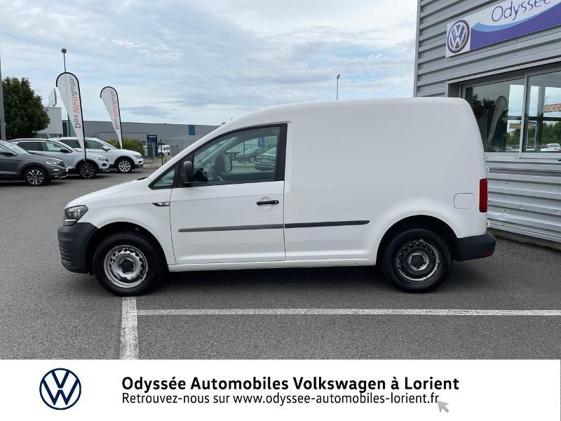 Volkswagen Caddy Van 2.0 TDI 75ch Van Blanc occasion à Lanester - photo n°2
