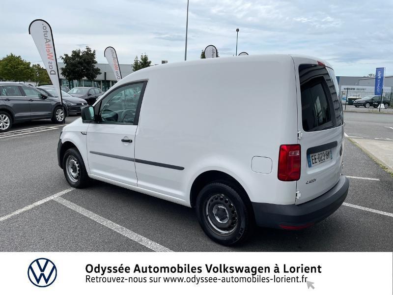 Volkswagen Caddy Van 2.0 TDI 75ch Van Blanc occasion à Lanester - photo n°3