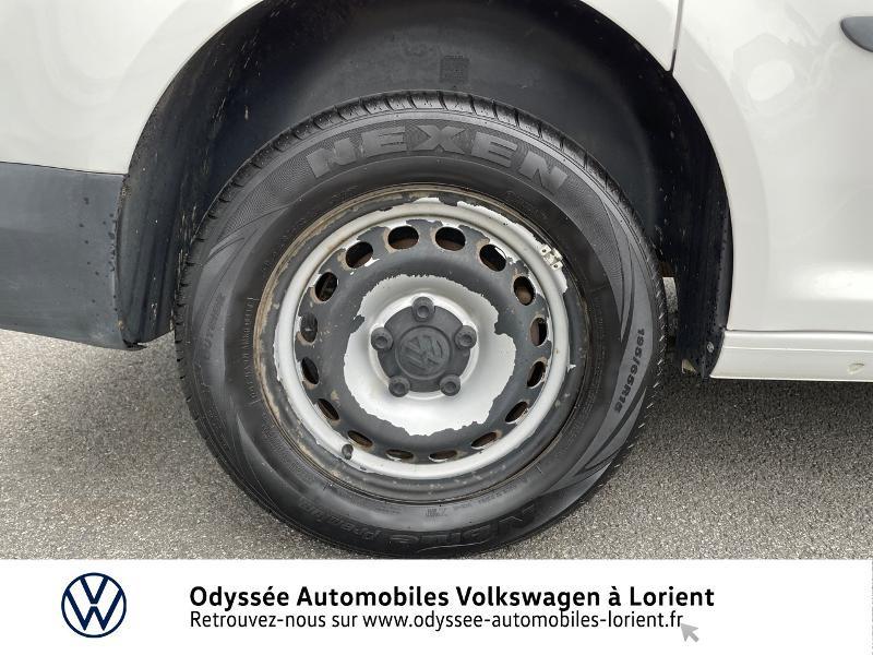 Volkswagen Caddy Van 2.0 TDI 75ch Van Blanc occasion à Lanester - photo n°16