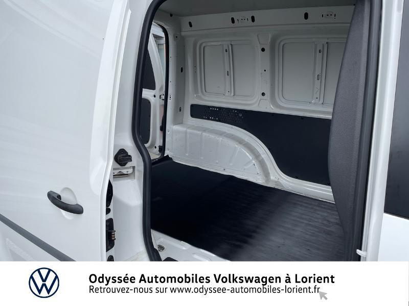 Volkswagen Caddy Van 2.0 TDI 75ch Van Blanc occasion à Lanester - photo n°12