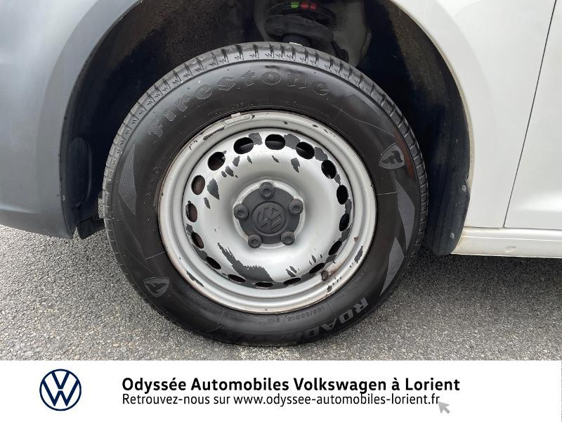 Volkswagen Caddy Van 2.0 TDI 75ch Van Blanc occasion à Lanester - photo n°14