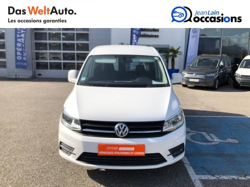 Volkswagen Caddy Van CADDY VAN 2.0 TDI 102 BVM5 BUSINESS LINE PLUS 4p Blanc occasion à La Motte-Servolex - photo n°2