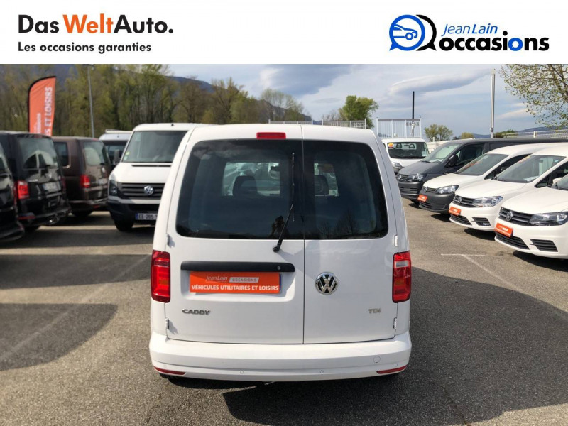 Volkswagen Caddy Van CADDY VAN 2.0 TDI 102 BVM5 BUSINESS LINE PLUS 4p Blanc occasion à La Motte-Servolex - photo n°6