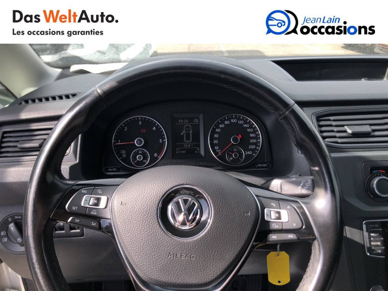 Volkswagen Caddy Van CADDY VAN 2.0 TDI 102 BVM5 BUSINESS LINE PLUS 4p Blanc occasion à La Motte-Servolex - photo n°12