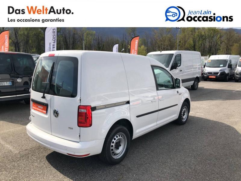Volkswagen Caddy Van CADDY VAN 2.0 TDI 102 BVM5 BUSINESS LINE PLUS 4p Blanc occasion à La Motte-Servolex - photo n°5
