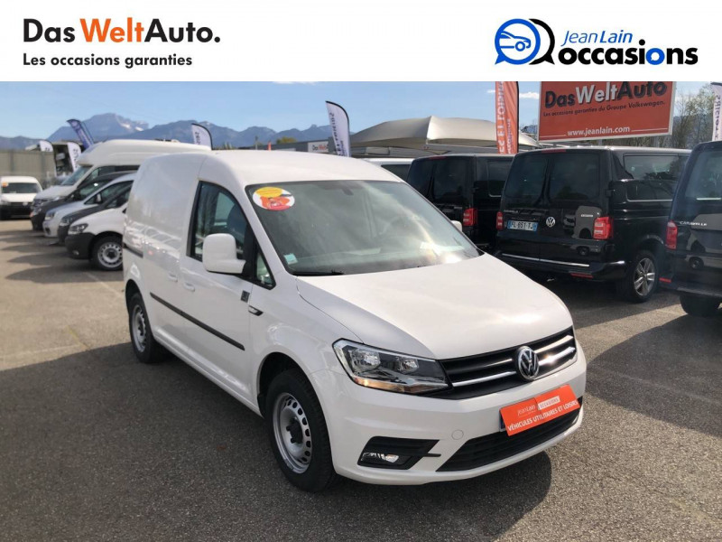 Volkswagen Caddy Van CADDY VAN 2.0 TDI 102 BVM5 BUSINESS LINE PLUS 4p Blanc occasion à La Motte-Servolex - photo n°3