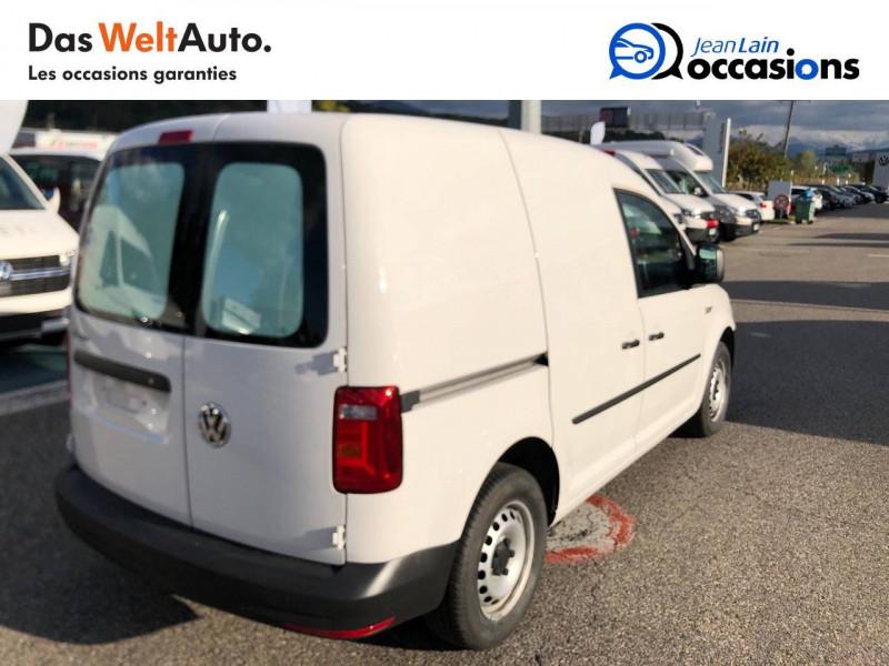 Volkswagen Caddy Van CADDY VAN 2.0 TDI 75 BVM5 TYPE FEEL EDITION 4p Blanc occasion à Seynod - photo n°5