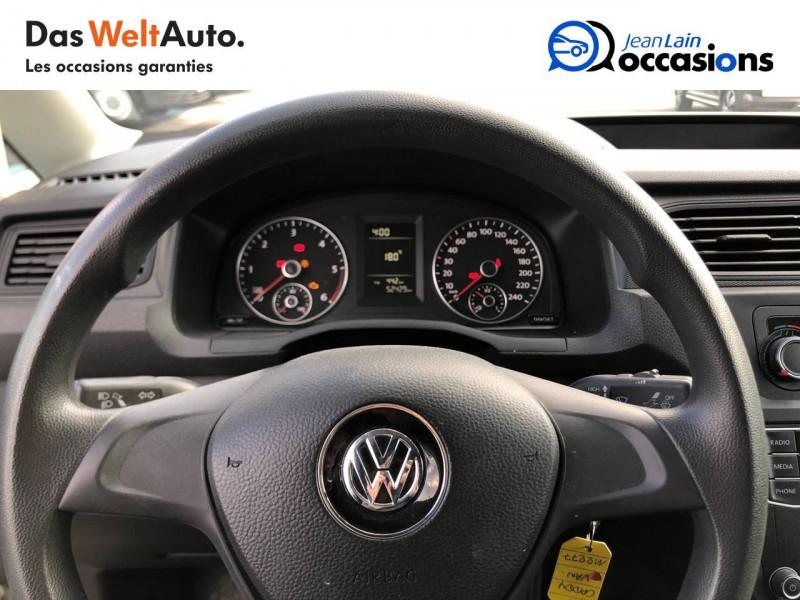 Volkswagen Caddy Van CADDY VAN 2.0 TDI 75 BVM5 TYPE FEEL EDITION 4p Blanc occasion à Seynod - photo n°12