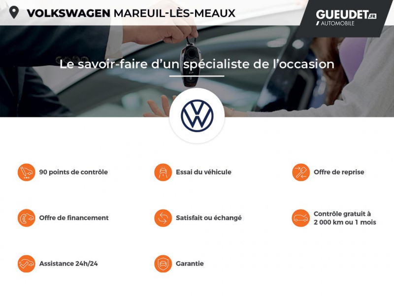 Volkswagen Caddy Van Maxi 2.0 TDI 102ch Business Line Blanc occasion à Mareuil-lès-Meaux - photo n°17